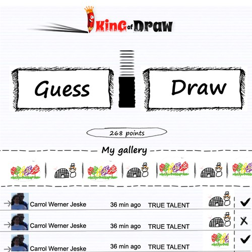 Runner-up design by goyama