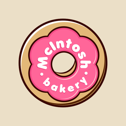 logo for mcintosh bakery logo design contest