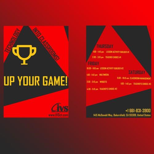 Runner-up design by Geekaydesigns