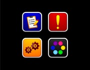 Icon or button design by - Saga -