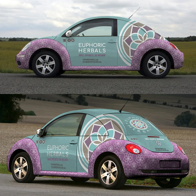 Design an Herbal Bug on the Go! | Car, truck or van wrap contest