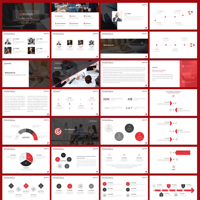 Investment Banking Advisory Firm Needs Powerpoint Template