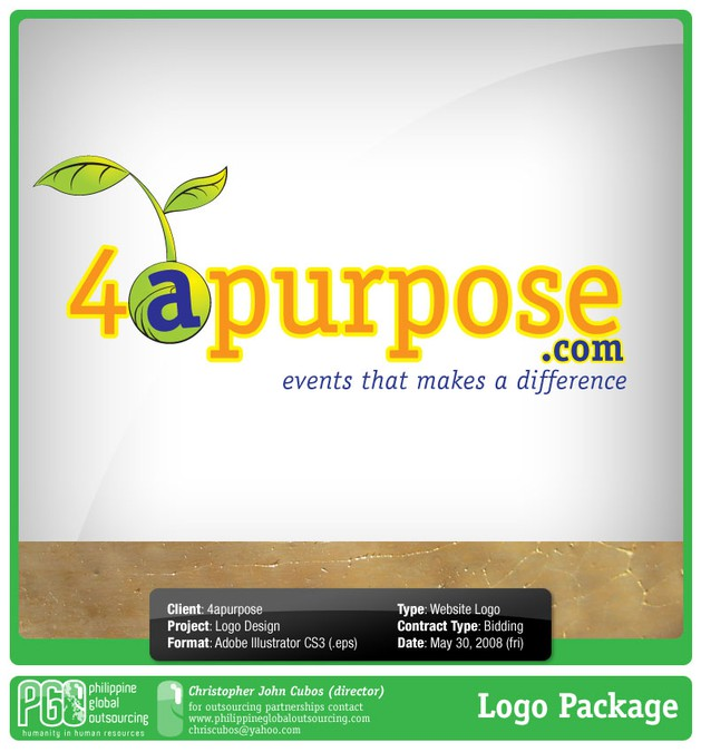 Design gagnant de logodad.com