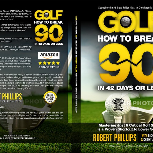 Kindle Book Cover Design Specs ~ Kindle and createspace book covers needed for golf how to