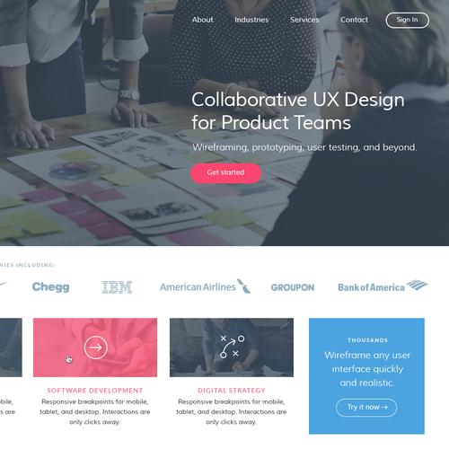 Diseño finalista de SixDesign
