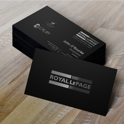 Guaranteed contest sophisticated business card business card runner up design by schnell colourmoves