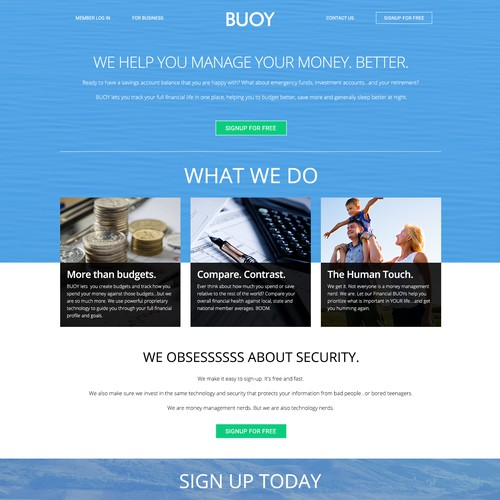 Design finalista por Bigdotdesigns