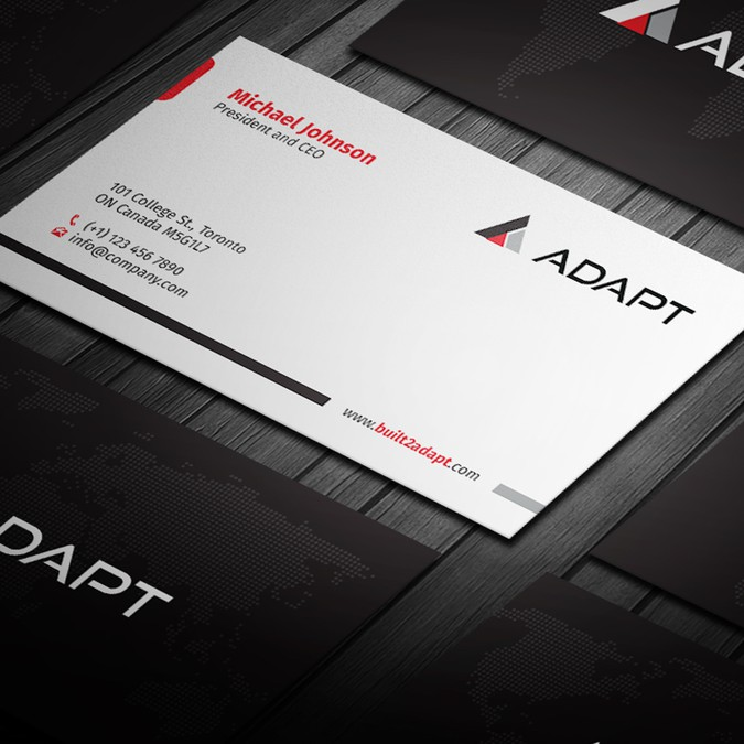 tech company looking for the best business card ever - Best Looking Business Cards
