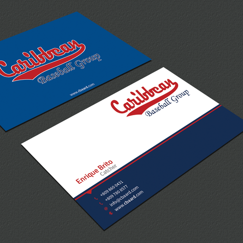 Baseball academy needs business cards business card contest entries from this contest colourmoves