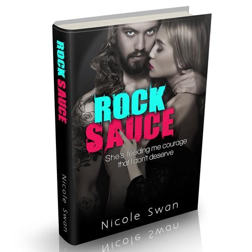 Romance Book Cover Ups : Rock star romance book cover design contest