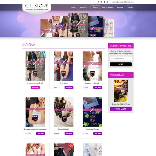 Runner-up design by AVI Web Solutions