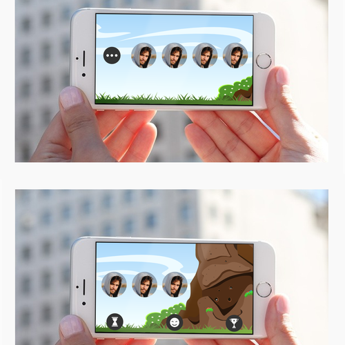 Create A Fun Vertical Scroller Background For An IPhone