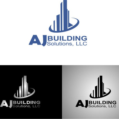 Logo For Aj Building Solutions Llc Logo Design Contest