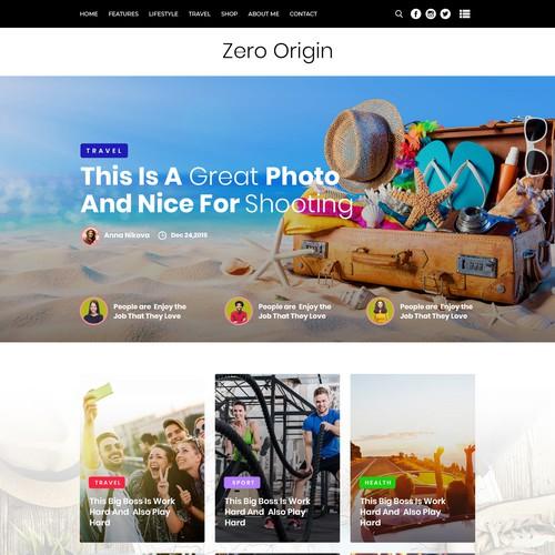 Diseño finalista de Web & Graphic Studio