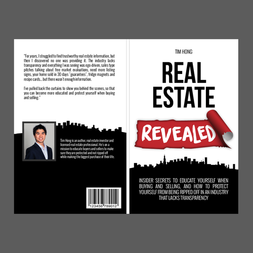 Create a book cover for a launch of a new book in the real estate diseo finalista de luza oak solutioingenieria Images