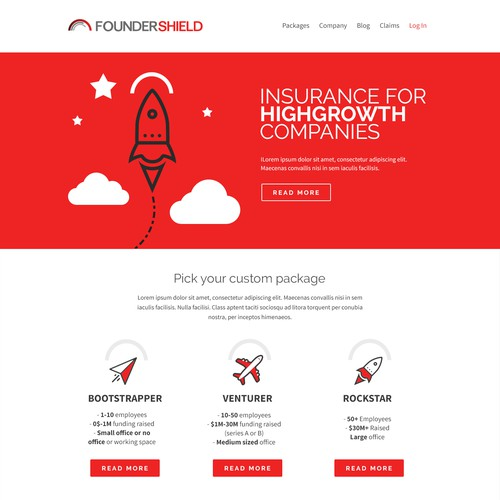 Runner-up design by GETCREATED