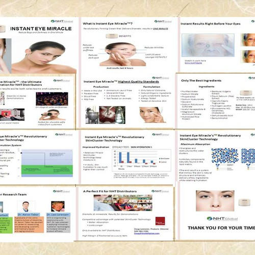 Beauty Product Powerpoint Presentation Powerpoint Template