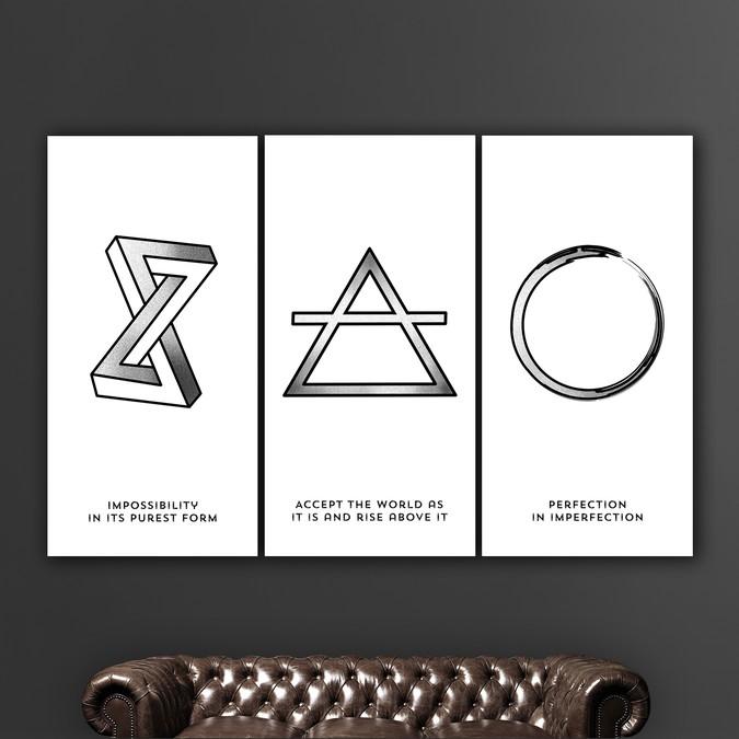 Winning design by GloriaSánchezArtist