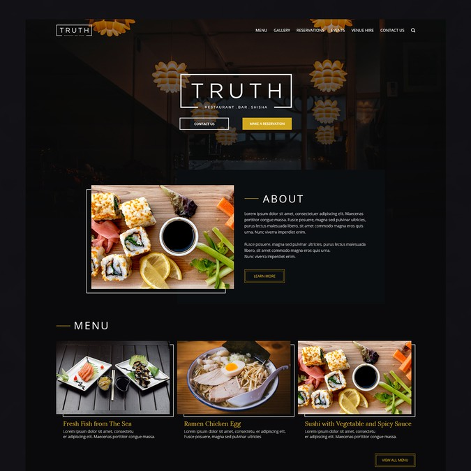 Winning design by Visual Maven
