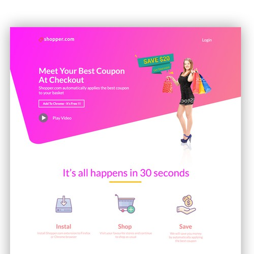 Runner-up design by Web_mastery