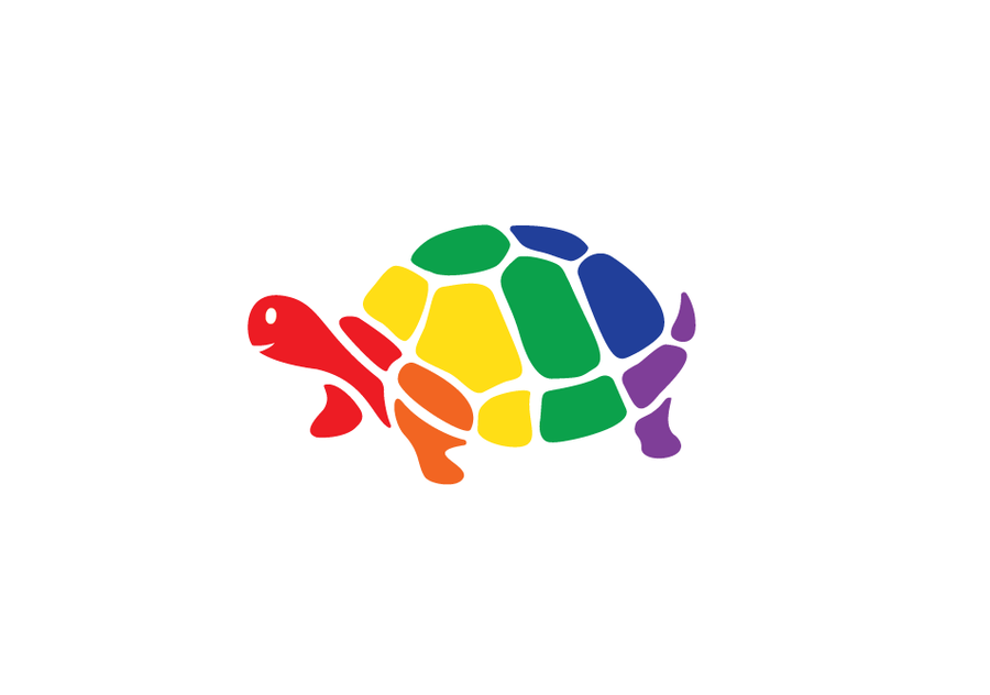 Rainbow turtle logo logo design contest for Home decor logo 99design