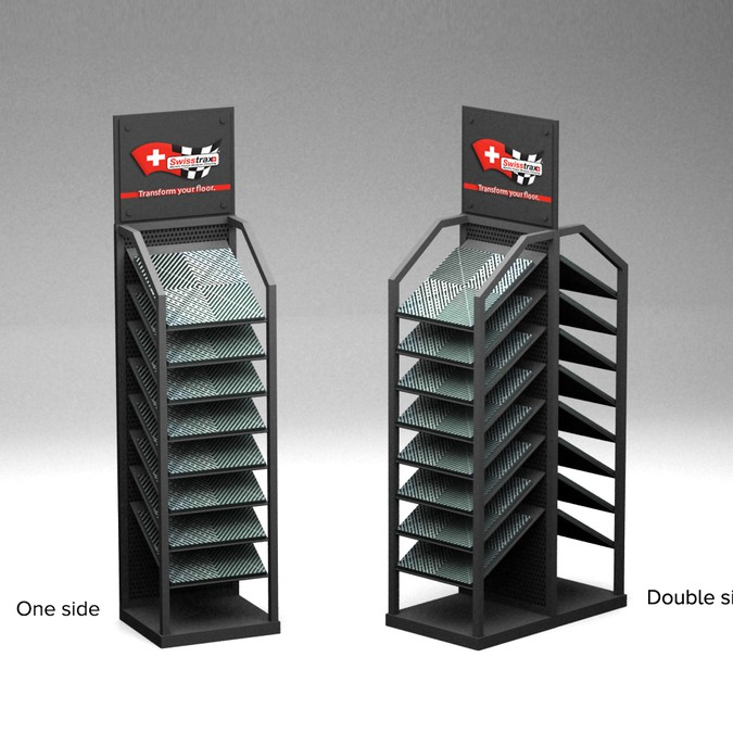 Exhibition Stand Design Competition : Swisstrax international flooring needs a new tile display