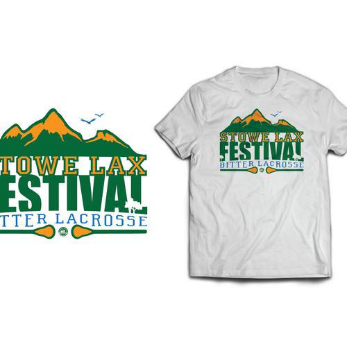 2015 stowe lax festival t shirt t shirt contest for T shirt design festival