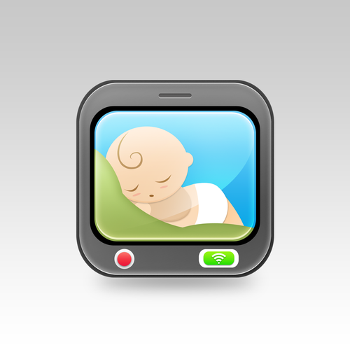 baby monitor iphone app create app icon for baby monitor iphone app icon or 5411