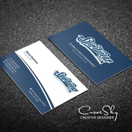 Runner-up design by CurveSky™