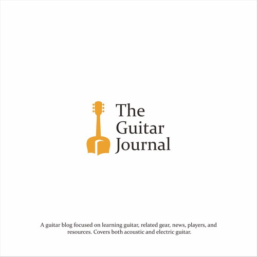 Guitar Blog Needs a Clean & Classic Logo Re-Design | Logo