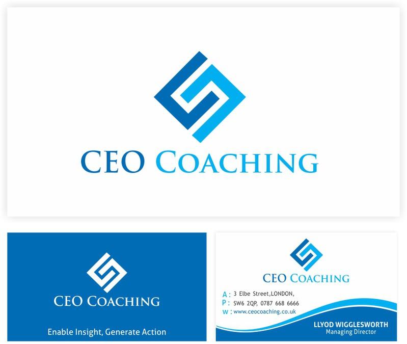 High profile ceo consultancy logo design logo business for Design consultancy company profile