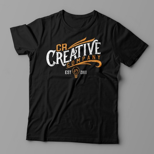 Create a Vintage T-Shirt Design for a Marketing Company Design by artdian