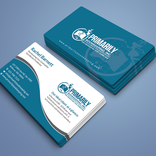 Accounting Firm Business Card