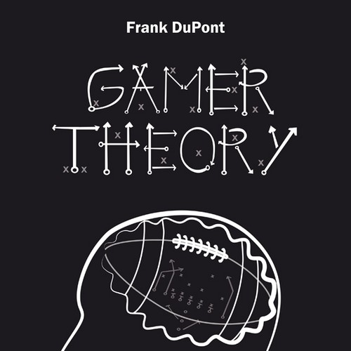 Design a minimalist cover for the book gamer theory for Minimalist architecture theory