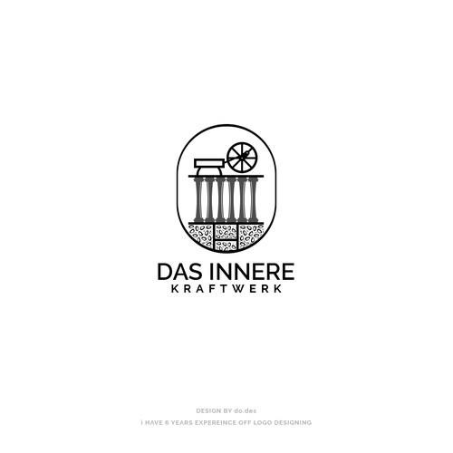 Erstelle ein logo f r das innere kraftwerk logo for Innere design