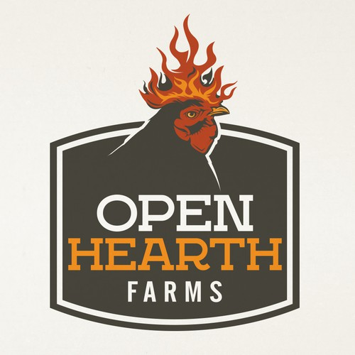 Open Hearth Farm needs a strong, new logo Design by pmo