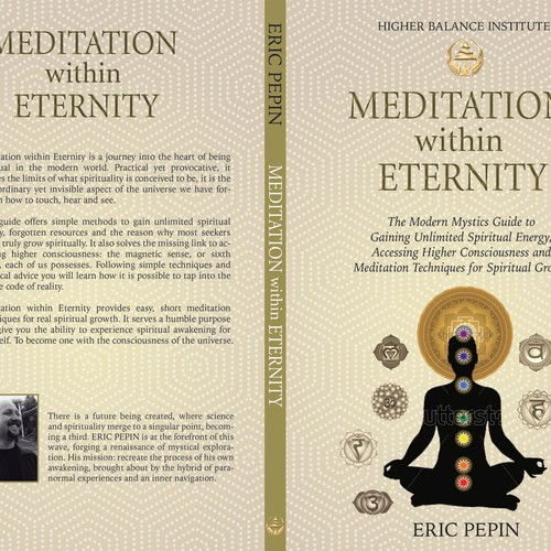 Meditation Book Cover for Amazon Bestselling Author | Book