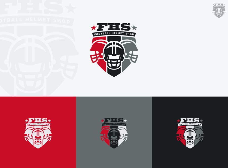 Logo for football helmet shop logo design contest for Home decor logo 99 design contest