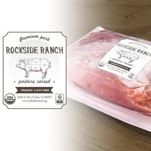 how to create package label