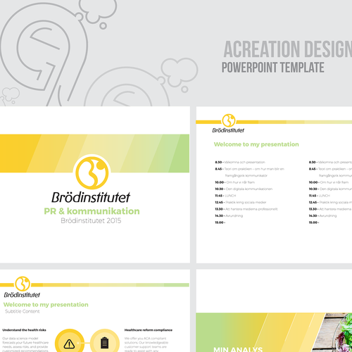 Runner-up design by Acreation Designs