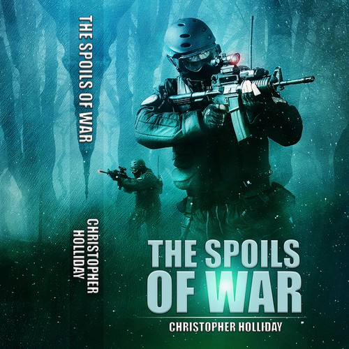 Kindle Book Cover Art : Create kindle cover art for military sf novella book