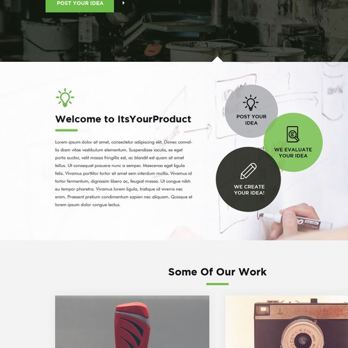 Runner-up design by Intricate