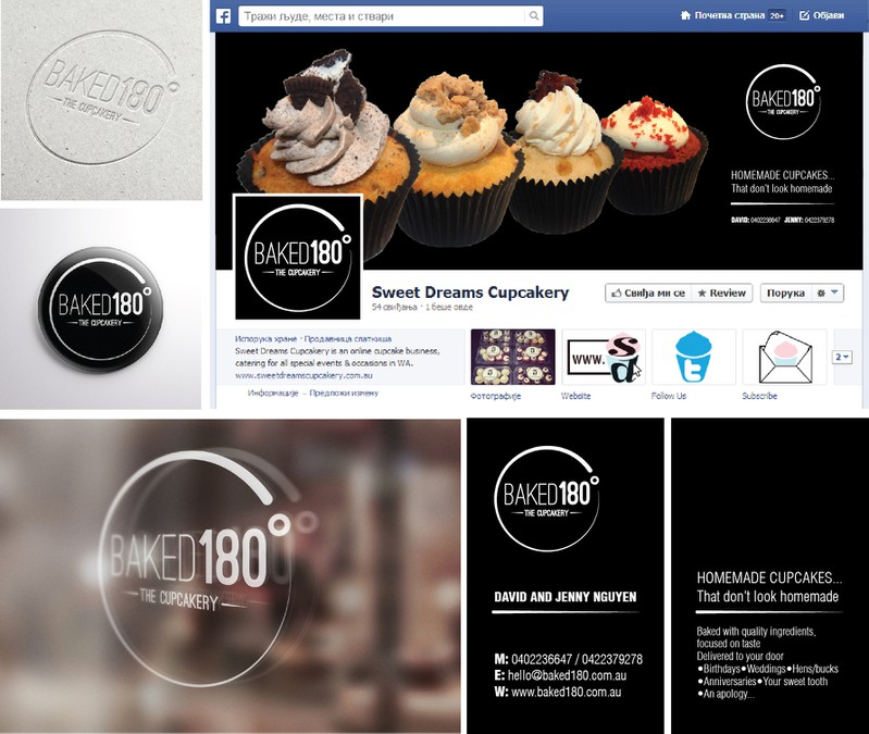ATTN: ALL DESIGNERS! NEW CUPCAKE LOGO AND BUSINESS CARDS NEEDED ...