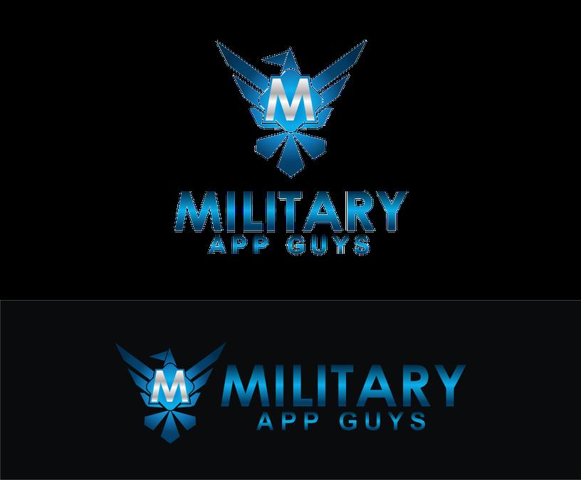 logo for military app guys logo design contest