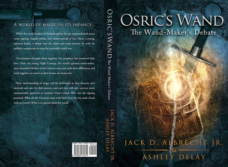 Fantasy Book Cover Ideas : Book cover design for an epic fantasy novel print or