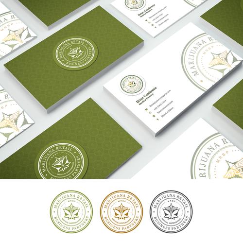 Medical Marijuana Bussiness Cards Designs