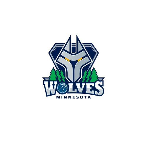 Community Contest: Design a new logo for the Minnesota Timberwolves! Design von MZ777