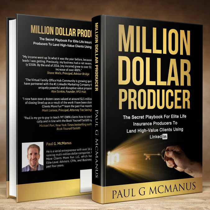 Design a powerful book cover for More Clients More Fun | Book cover