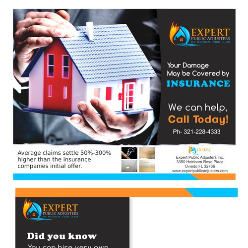 Public Insurance Adjuster Looking For A Direct Mail