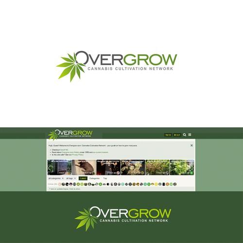 Design timeless logo for Overgrow.com Design by Ruldi
